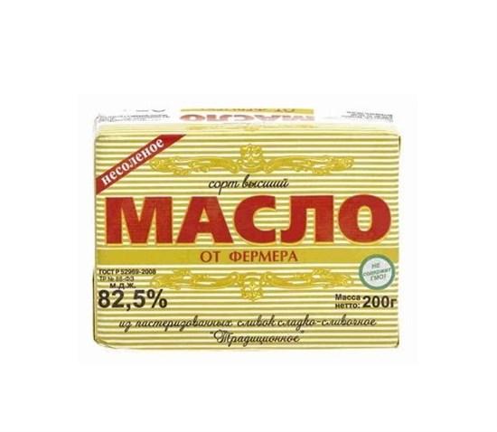 Масло слив. 180 гр.ГОСТ 82,5% - фото 4719
