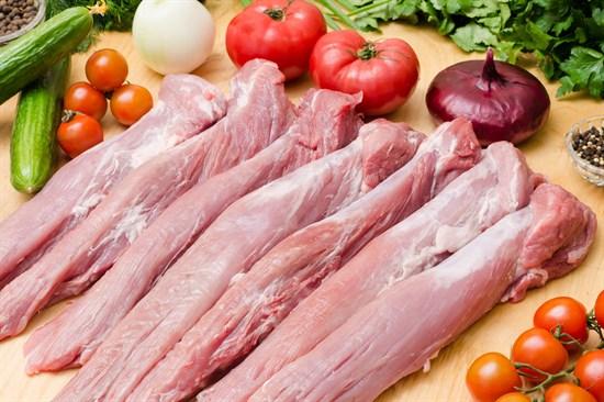 Свиная вырезка без кости - фото 4957