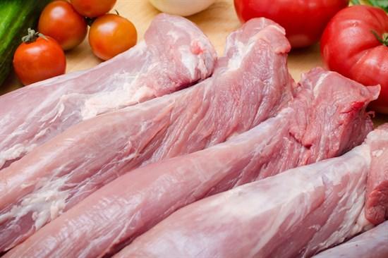 Свиная вырезка без кости - фото 4958