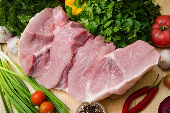 Свиной окорок без косточки - фото 4994