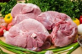Свинной окорок на кости (домашнее мясо)