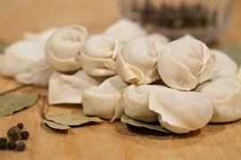 Пельмени с картофелем и грибами (постные)